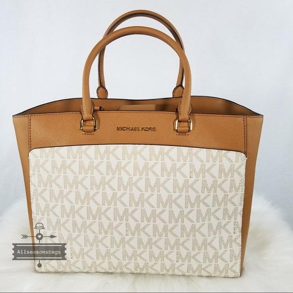 68332387d705 Michael Kors Bags | Nwt Emmy Large Double Handle Tote Bag | Poshmark